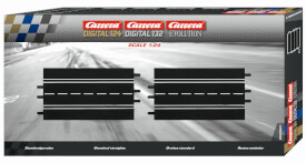 Carrera 2er-Pack Standardgeraden (DIGITAL 124, DIGITAL 132, EVOLUTION)