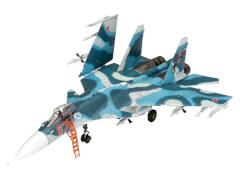 REVELL 03911 Modellbausatz Sukhoi Su-33 Navy Flanker 1:72, ab 14 Jahre