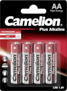 Camelion Batterien Mignon AA Alkaline 4er Blister