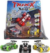 Dickie Trixx 360 - 3 Action-Autos, Kunststoff, ab 3 Jahre, sortiert