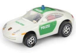 DARDA Rennwagen Porsche Polizei, 1:60, Kunststoff, ab 5 Jahre