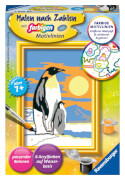Ravensburger 28466 Malen nach Zahlen Süße Pinguine Serie F