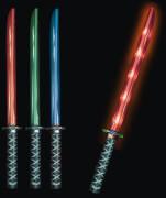 Ninja-Leuchtschwert mit Sound, ca.  68,3x7,6x6,8 cm, ab 3 Jahren