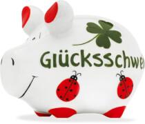 Sparschwein ''Glücksschwein'' - Kleinschwein von KCG - Höhe ca. 9 cm