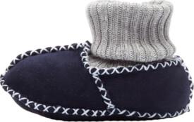 Fillikid Baby Lammfell Schuhe, marine, Gr. 17/18